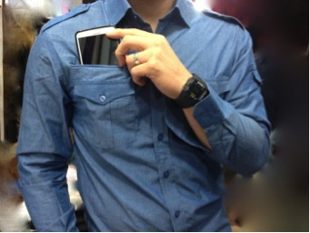 dress shirts with smartphone pockets