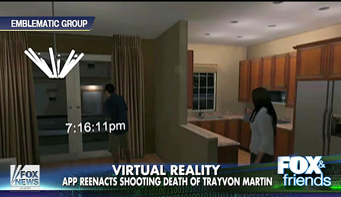 Virtual reality app reenacts Trayvon Martin shooting