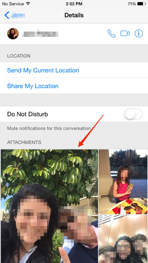 view-every-photo-someone-has-texted-you-and-vice-versa and share-your-current-location-with-a-friend and 5 Smartphone Secrets: Tricks & Hidden Features