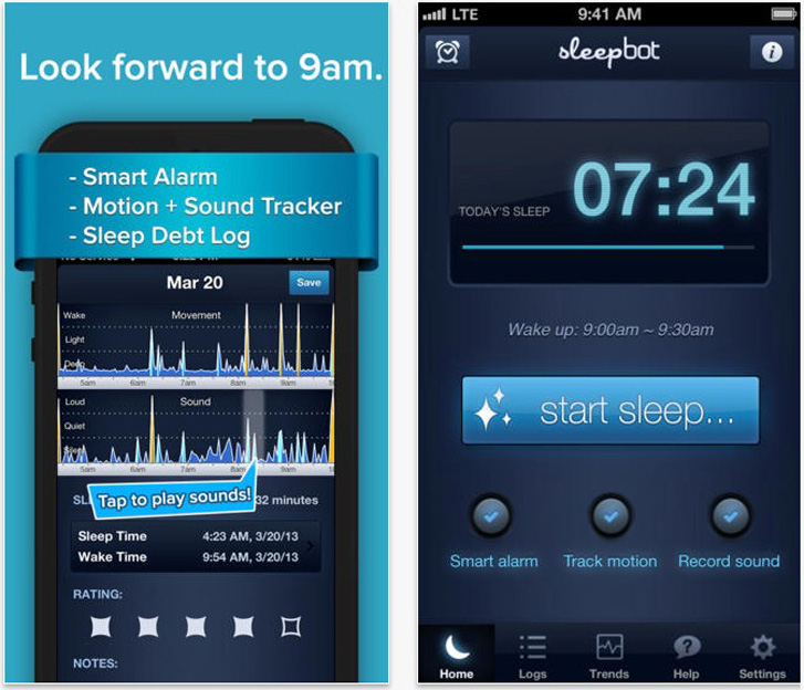 5 Ways to Get A Better Night Sleep - Sleepbot App