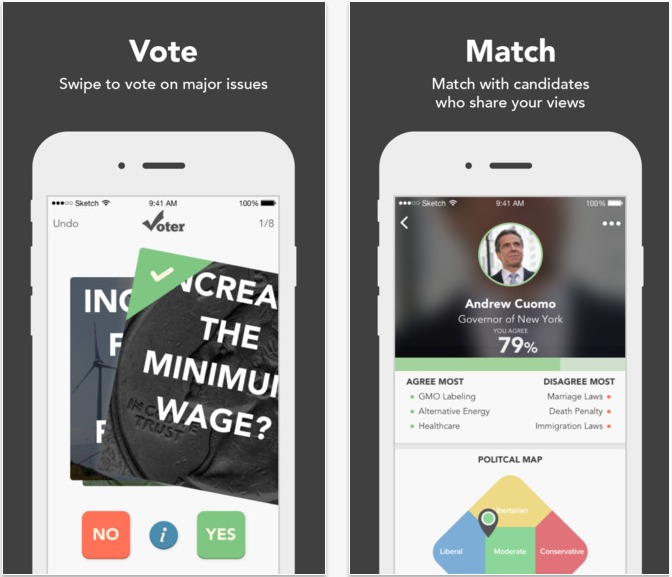 Voter Matchmaking For Politics On The App Store